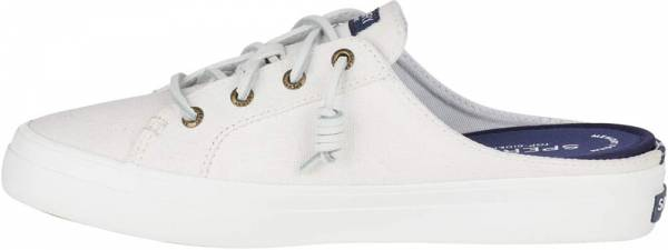 Sperry Crest Mule White