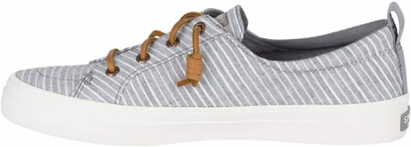 Sperry Crest Vibe Chambray Stripe - Grey/White