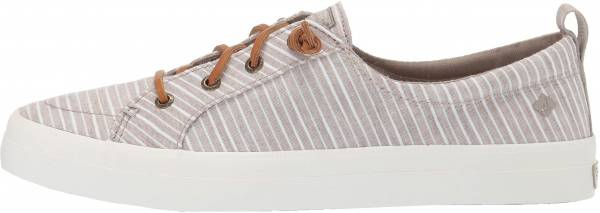 Sperry Crest Vibe Chambray Stripe Beige
