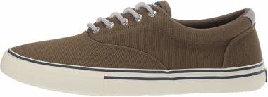 Sperry Striper Storm CVO Canvas Duck - Olive (STS19846)