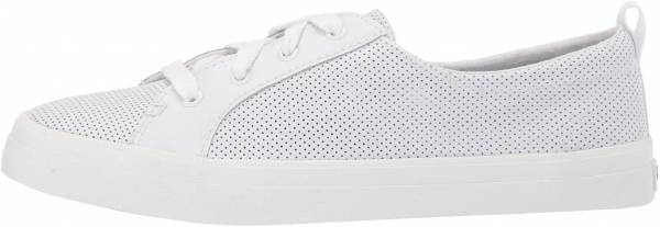 Sperry Crest Vibe Mini Perforated White