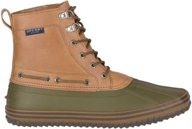 Sperry Huntington Duck Boot - Tan/Olive (STS21637)