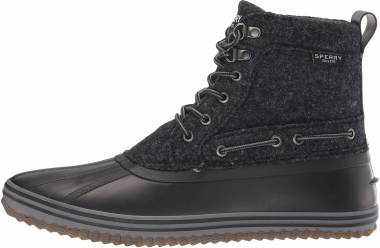 Sperry Huntington Duck Boot - Black Wool (STS21636)