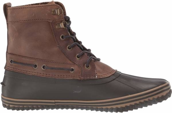 Sperry Huntington Duck Boot - Brown/Dk Brown (STS21638)