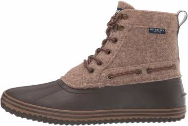 Sperry Huntington Duck Boot - Brown Wool (STS21635)