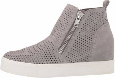 Steve Madden Wedgie-P - Light Grey Suede (WEDG03S1665)