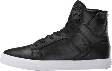Supra Skytop - Black White