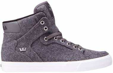 Supra Vaider - Charcoal Wool/Silver/White (08204053)