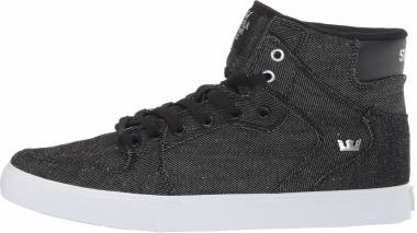 Supra Vaider - Black Denim White