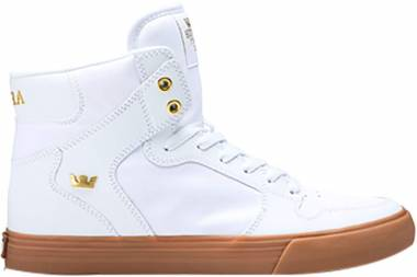 Supra Vaider - White/Gold-Light Gum (08044176)