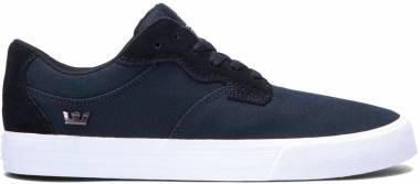 Supra Axle - Black Suede/Canvas