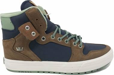 Supra Vaider Cold Weather - Marineblau Braun (08043436)