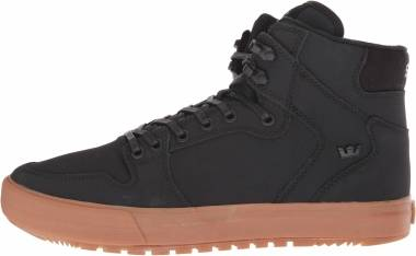 Supra Vaider Cold Weather - Black Black Gum