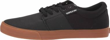 Supra Stacks Vulc II - Black Black Tuf Lt Gum 024 (08029024)
