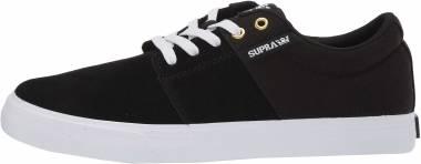Supra Stacks Vulc II - Black/Black-white (08029044)