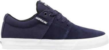 Supra Stacks Vulc II - Blue Navy White Nvy (S92149)