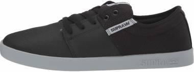 Supra Stacks II - Black Tuf-lt Grey (08183057)