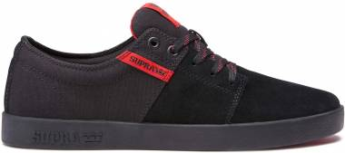 Supra Stacks II - Black/Risk Red-black