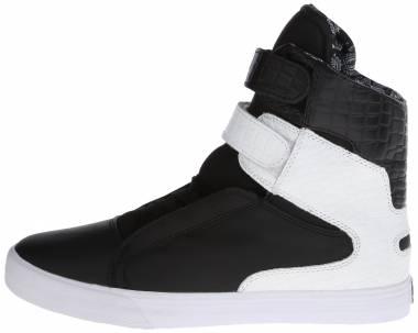 Supra Society II - Black Black White White Bww
