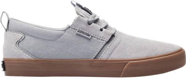 Supra Flow Grey/Dark Grey-gum