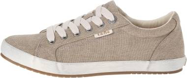 Taos Star - Khaki Wash Canvas