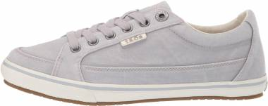 Taos Moc Star - Light Grey Distressed