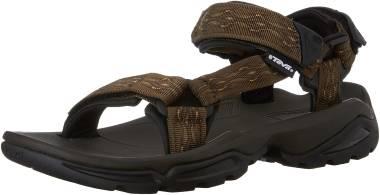 Flexibility Sandals Mens Dark Blue The Teva Terra Fi 4 Walking