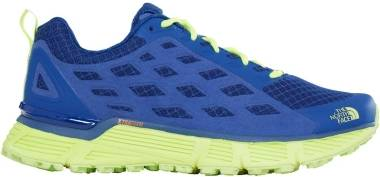 The North Face Endurus TR - Brit Blue/Dayglo Yellow (T92VUT4CU)