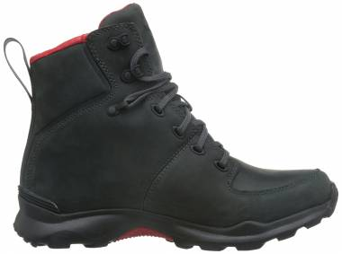 The North Face Thermoball Versa - Grey Dark Shadow Grey Tnf Red (NF0A2T5AJQ2)