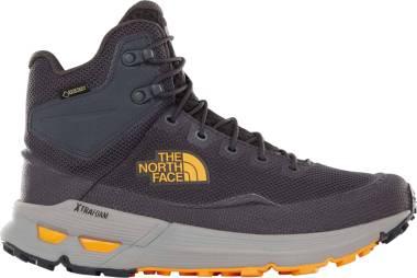The North Face Safien Mid GTX - Grey Ebony Grey Zinnia Orange C4t (T93RDCC4T)