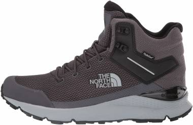 The North Face Vals Mid Waterproof - Blackened Pearl/Tnf Black (NF0A3RD75QT)