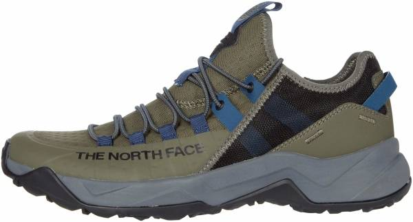 The North Face Trail Escape Edge - Green/Grey/(Past Season) (NF0A3X1379K)