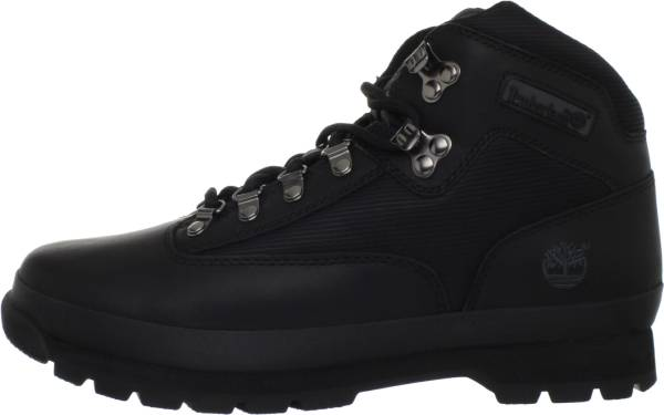 Timberland Euro Hiker - Black Smooth (56038)