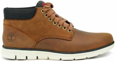 Timberland Bradstreet Chukka - Red Brown Full-Grain (A13EE)
