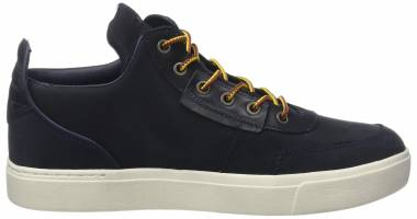 Timberland Amherst High-Top Chukka - Blue Navy Nubuck 410