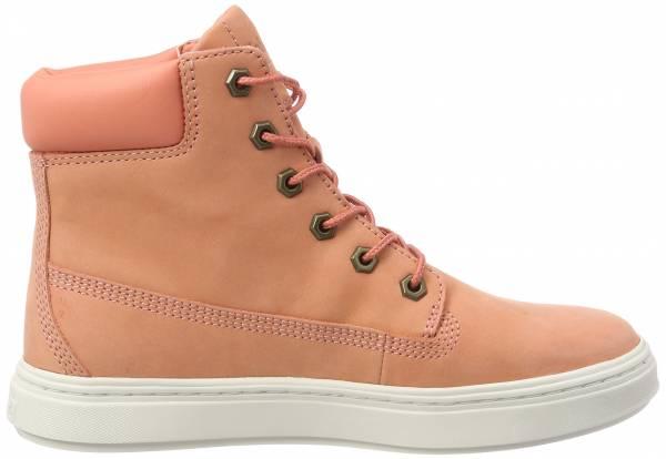 Timberland Londyn 6-inch Sneaker Boots - Dark Pink Nubuck