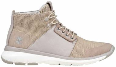 Timberland Altimeter Mixed-Media Sneaker Boots Beige Men