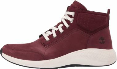 Timberland Flyroam Go Leather Chukka Sneakers - Burgundy (A1QGC)