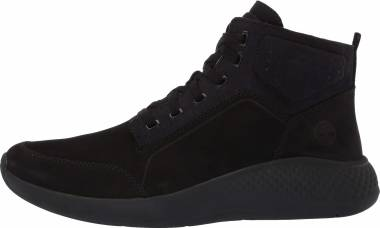 Timberland Flyroam Go Leather Chukka Sneakers - Black