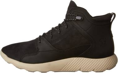 Timberland FlyRoam Leather Sneaker Boots - Black (51866)