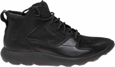 Timberland FlyRoam Leather Sneaker Boots - Black (11442)