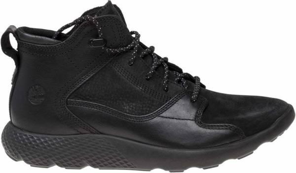 Timberland FlyRoam Leather Sneaker Boots - Black (11442)