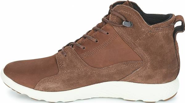 Timberland FlyRoam Leather Sneaker Boots - Brown