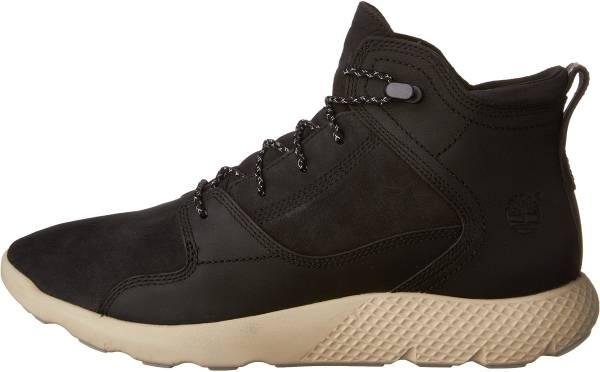 Timberland FlyRoam Leather Sneaker Boots - Black (89761)