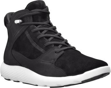 Timberland FlyRoam Leather Sneaker Boots - Black