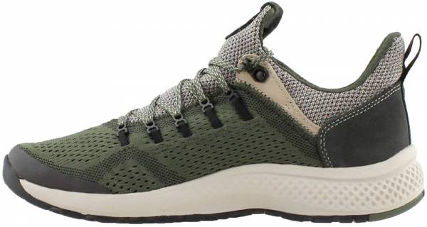 Timberland FlyRoam Trail Mixed-Media Sneakers - Dark Green (A1NVO)