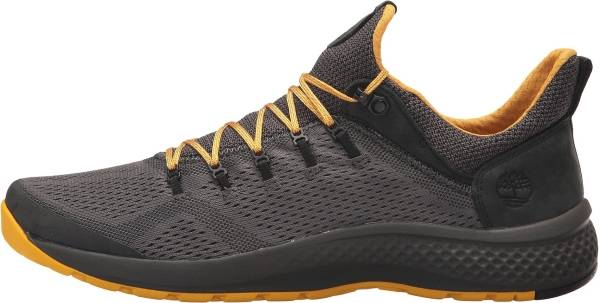 Timberland FlyRoam Trail Mixed-Media Sneakers - DARK GREY FULL-GRAIN/MESH