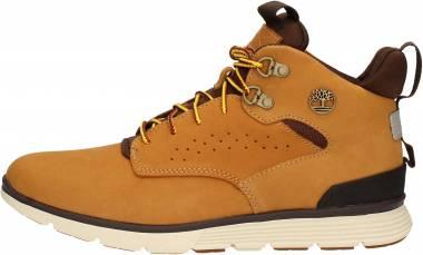 Timberland Killington Hiker Chukka Boots - Beige Wheat Nubuck