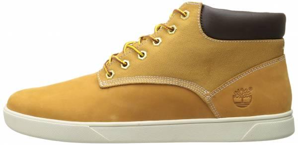 Timberland Groveton Plain-Toe Chukka Shoes Yellow