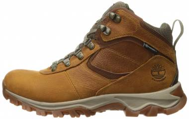 Timberland Mt. Maddsen Mid Waterproof Light Brown Full Grain Men